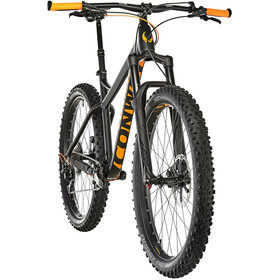 Conway MT 927 Plus Herre black matt/orange